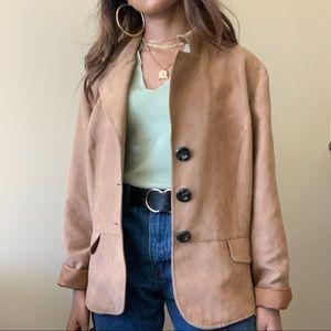 Jackets & Blazers - Beige Short Trench Coat (Camel Coat)